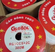 GLOBAL TAG-RG6CCS+2C 200 mét